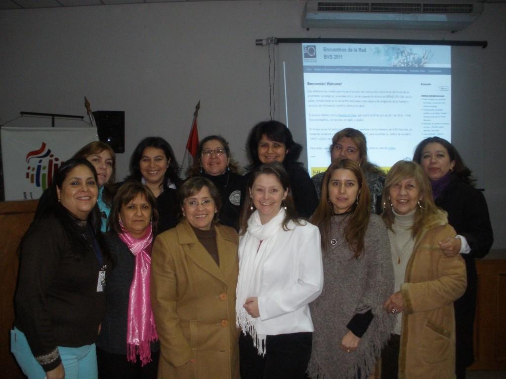 Reunión de la BVS en Paraguay. Contribución de Azucena Melgarejo Sanabria
